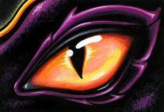 Art: Eye Of Sun Aura by Artist Elaina Wagner Eye Painting, Stone Painting, Fantasy Dragon, Fantasy Art, Sun Aura, Dragon Eye Drawing, Animal Art Projects, Dragon Artwork, 1 Tattoo
