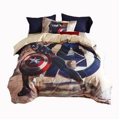 Smart Electronics Disney 3d Printed Marvel Spiderman Bedlinen Super Hero Boy Gift Adult Comforter Bedding 100% Cotton Queen Twin Size Summer Quilt