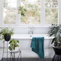 Home is where the relaxation is. @therenoproject_ #TeaTreeHairCare #Decor #DesignInspo Laundry In Bathroom, Bathroom Cleaning, Natural Bathroom Cleaner, Little Bit, Clawfoot Bathtub, Exterior Design, Perfect Place, Relax, House