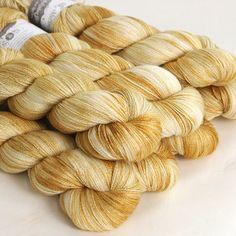 24 Carat, Silk/merino lace, Hedgehog Fibres
