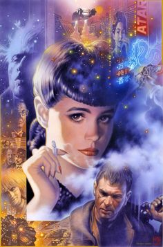 "Blade Runner. ""I've seen things you people wouldn't believe. Attack ships on fire off the shoulder of Orion. I've watched C-beams glitter in the dark near the Tannhauser Gate. All those moments will be lost in time, like tears in rain. Time to die."""