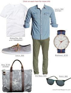 Mens Casual Dress Outfits, Smart Casual Outfit, Cool Outfits, Men Casual, Shirt Outfit, T Shirt, Denim Shirt Men, Mens Clothing Styles, Shirt Style
