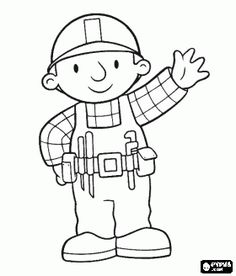 preschool coloring pages for preschoolers construction construction coloring pages coloring pages of construction - Construction Worker Coloring Page