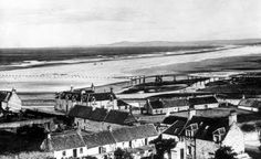Tour Scotland Photographs: Old Photograph Seatown Lossiemouth Scotland