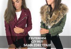 Ramoneski z odpinanym kołnierzem, najmodniejsze w sezonie! Duża ilość kolorów i rozmiarów! #stylowybaaazar www.stylowybaaazar.pl