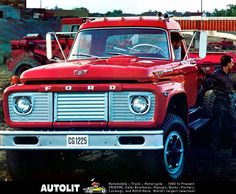 Like these old Ford Trucks