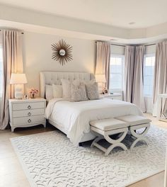 Modern Bedroom Design Trends and Ideas in 2019 Part bedroom ideas; bedroom ideas for small room; bedroom decorating i Modern Bedroom Design, Master Bedroom Design, Room Ideas Bedroom, Home Decor Bedroom, Dream Rooms, Dream Bedroom, Queen Bedroom, Beautiful Bedrooms, Bedroom Romantic