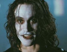 The BEAUTIFUL BRANDON BRUCE LEE as Eric Draven in THE CROW,  *(can you believe this is the 20th Anniversary of the release?  )              2014