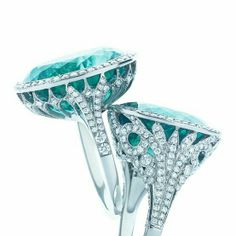Paraiba tourmaline ring I will one day have a paraiba. I'm so obsessed. ❤️mqp