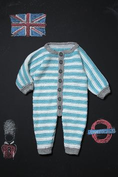 Ravelry: Royal Crochet Onesie pattern by Lorna Miser