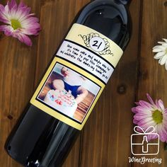Funny Wine Quotes With Custom Wine Custom Wine Bottles, Custom Wine Labels, Personalized Wine Bottles, Personalized Gifts, Wine Quotes, Muse, Great Gifts, Amazing, Personalized Wine Labels