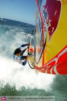#Windsurfing: PWA TENERIFE WORLD CUP 2013. Photo: John Carter