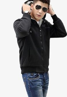 Men Men Model, Men's Sunglasses Model, Men's Black Hoodie Model PNG Image