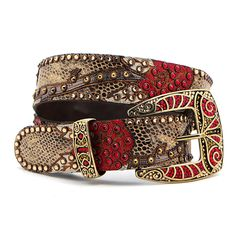 "Kippys 1.5"" Rose Vine Belt  Have a good collection of these beauties...they are great w jeans & t shirts"