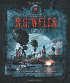 Steampunk: H.G. Wells - http://steampunkvapemod.com/steampunk-h-g-wells/