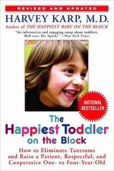 "I just finished reading The Happiest Toddler on the Block (How to eliminate tantrums and raise a patient, respectful, and cooperative one- to four- year old) by Harvey Karp, M.D.  After I finished reading it, I was concerned that the the cover notes it is a ""National Bestseller.""  The ""advice"" in this book lacks any foundation or …"