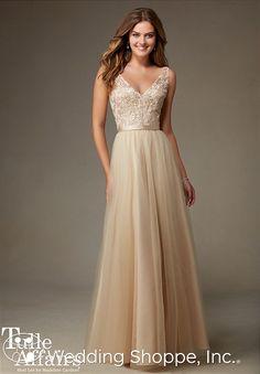 Taken -Mori Lee Bridesmaid Dress #134. Tulle. Wedding shoppe $196