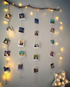 Hung below stage way to display pictures at a party - Google Search on christmas ideas for parties, indoor lighting ideas for parties, table lighting ideas for parties, outdoor ideas for parties,