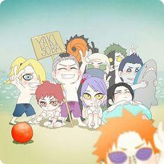 Akatsuki 😂😂😂 Itachi is so kawaii~~~ 😭 Naruto Kakashi, Naruto Shippuden Sasuke, Anime Naruto, Naruto Akatsuki Funny, Pain Naruto, Naruto Cute, Otaku Anime, Sasuke Sakura, Kuroko