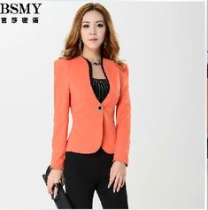 Designer Women's Business Suits | 2013 Fashion Newest Design Women Business Suits Formal Office Blazer ...