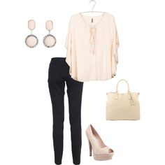 summer night, created by carovb76 on Polyvore