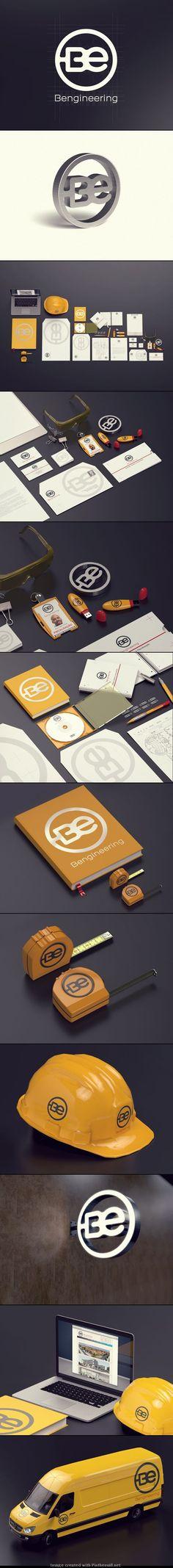 BE BENGINEERING Brand design by Artur Carvalho