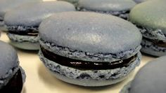 la france macarons blackberry and raspberry macarons with lime and ...