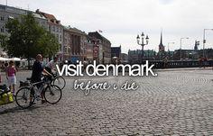 Visit Denmark #bucketlist