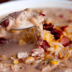 Jalapeno Popper Chicken Chili Recipe