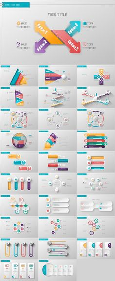 30+ three dimensional charts PowerPoint template on Behance #powerpoint #templates #presentation #animation #backgrounds #pptwork.com #annual #report #business #company #design #creative #slide #infographic #chart #themes #ppt #pptx #slideshow
