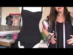 Diy Upcycle a 1 Piece Swimsuit Into A 2 Piece ~ Sewing Tutorial