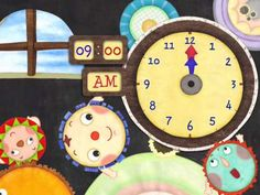 Learn To Tell Time, Learn To Read, Learning Stories, Crayon Box, Telling Time, Teaching Kids, Clock, App, Free