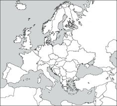 Discriminative Political Map Quiz Of Europe World Map After World