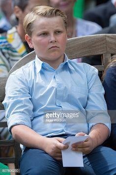Prince Sverre Magnus, 4 juillet 2017, 80 ans de la reine Sonja, Parc du Palais royal, Oslo