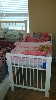 DIY Co-sleeping Ikea Crib Hack