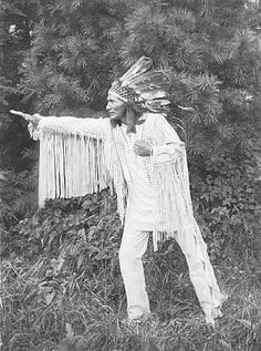 Famed author and lecturer Charles Eastman was raised in a traditional Dakota manner until age fifteen, when he entered Euro-American culture at his father's request. He spent the rest of his life moving between American Indian and white American worlds, achieving renown but never financial security.
