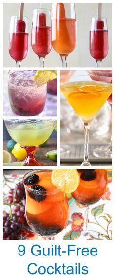 Guilt-Free Cocktails