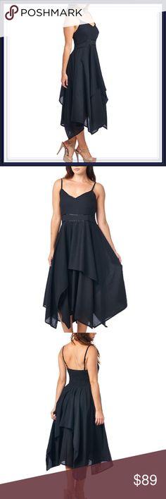 NWT Black Empire Waist Asymmetrical Dress ➖NWT ➖SIZE: Small, Medium ❌NO TRADE.  Homecoming prom Dresses Maxi
