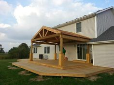 Porch Roof Framing Details Pro Built Construction Deck