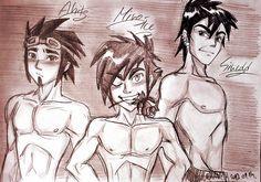 They are my favourite male charaters! Ahito, Micro-ice and Sinedd (c) Gala. Galactik Football, Happy Tree Friends, Hello Dear, My Friend, Naruto, Deviantart, Boys, Anime, Baby Boys