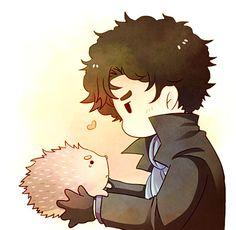 Sherlock and John. So cute!