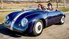 Carice Mk 1 Electric Roadster from the Netherlands. Custom made to order.