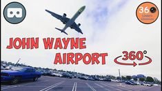 Watch aircraft land at Santa Ana John Wayne Airport in Southern California in 360º & VR!  Download the YouTube App for viewing the VR video in your phone!   #VR #VirtualReality #360degree #360video #360 #airplane #airport #JohnWayne #SoCal #SouthernCalifornia #California #travel #traveler #tourism #vacationtips  #lifestyle #aircraft