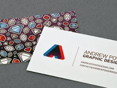 business cards by andrew power