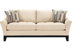 picture of Cindy Crawford Home Newport Cove Vanilla Sofa  from Sofas Furniture