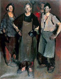 Por amor al arte: Corneliu Baba – Russian Painting, Russian Art, Figure Painting, Painting & Drawing, Classic Paintings, Great Paintings, Soviet Art, Traditional Paintings, Classical Art