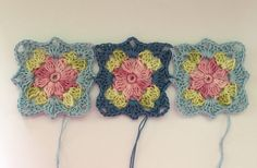 Little Wilde Flower Square  english pattern an absolutely stunning tutorial over at Crochet Millan. Love it!