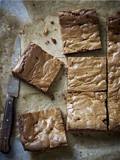 The most delicious blondies! I make these blondies with Green & Blacks for the perfect chocolatey blondie!