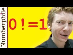 Zero Factorial - Numberphile - YouTube Explain Why, Math, Zero, Youtube, Movies, Movie Posters, Films, Math Resources, Film Poster