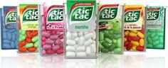 Tic Tac - Pastillas (todas menos las rojas)